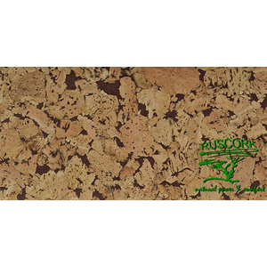 Пробковое покрытие   Ruscork Decorative cork wall Country brown